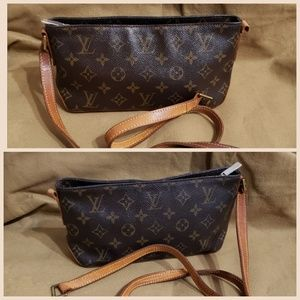 Auth Louis Vuitton Monogram Crossbody bag